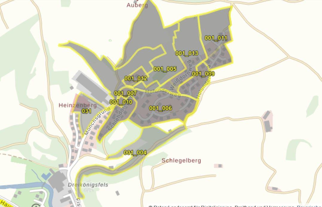 Bebauungsplan Waischenfeld